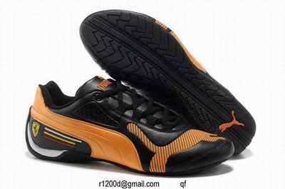 chaussures puma cuir homme