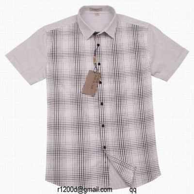 ... lot de chemise burberry homme manche longue chemise manche longue homme  pas cher chemise burberry 32d769cc994