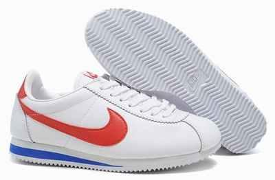 Nike Cortez Cuir Noir Homme