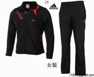 Adidas Jogging ensemble Femme Survetement Solde 4c8ZSc 30c85456cca